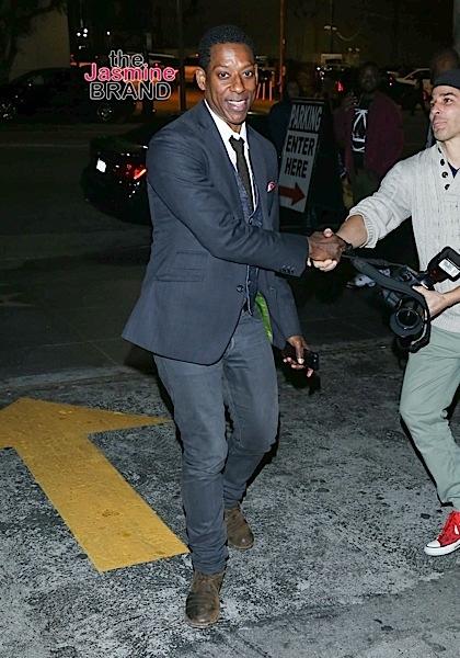Orlando Jones leaves the Avalon Hollywood Nightclub.