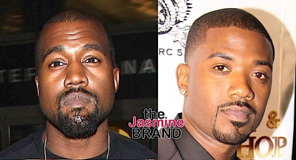 Kanye West Raps About Ray J: We would be friends if we wasn't in love with the same b*tch. [LISTEN]