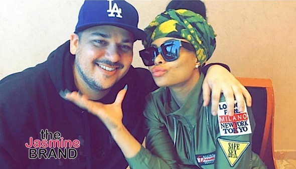 Rob Kardashian Denies Split From Blac Chyna: We're still together. [Photos]