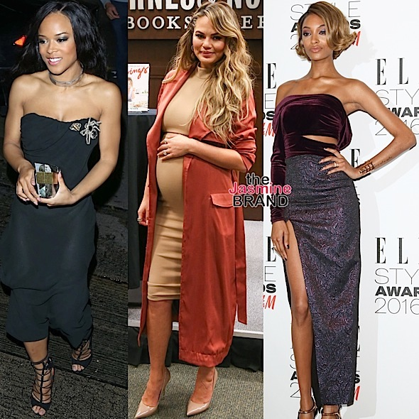 Seryah, Chrissy Teigen, Jourdan Dunn