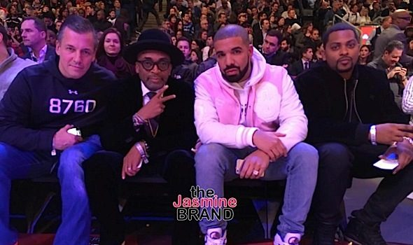 Celebrities Invade NBA All Star Weekend: Drake, Spike Lee, Kevin Hart, Gabrielle Union [Photos]