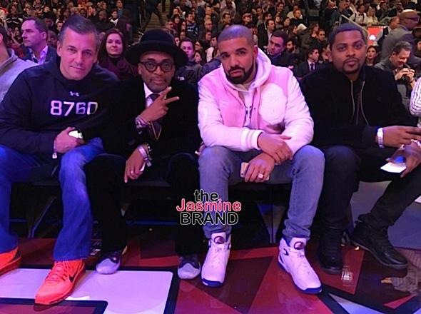 Celebrities Invade NBA All Star Weekend: Drake, Spike Lee, Kevin Hart, Gabrielle Union [Photos]