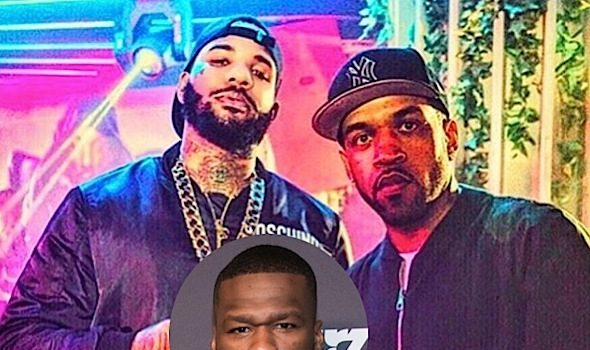 50 Cent Pissed at Lloyd Banks Over The Game [Photos]