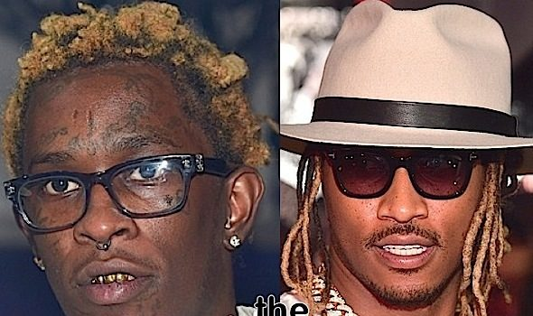 Young Thug & Future Drag Each Other On Twitter: Yo bitch wish u was me!