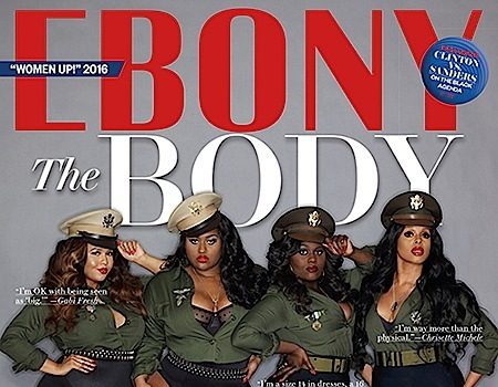 Jazmine Sullivan, Danielle Brooks, Chrisette Michele & Gabi Fresh Serve Curves For EBONY [Photos]