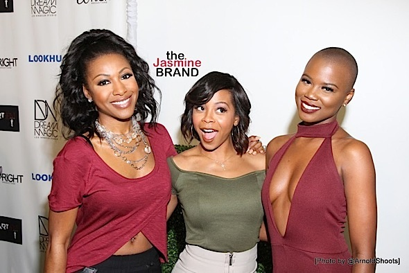 Gabrielle Dennis, Bresha Webb, V.Bozeman, April Daniels Attend Dream Magic Studios Re-Launch [Photos]