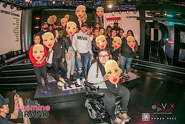 Amber Rose and Fans