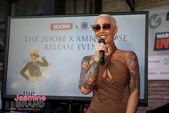 Amber Rose Debuts New 3D Character at SXSW [Photos]