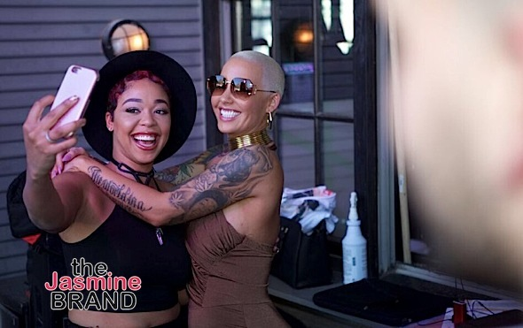 Amber Rose Defends DJ Duffey: I'm surprised how Basketball Wives treated her.