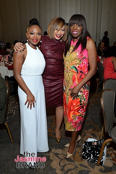 Tisha Campbell-Martin, Naturi Naughton, Mikki Taylor at Untold Stories Luncheon [Photos]