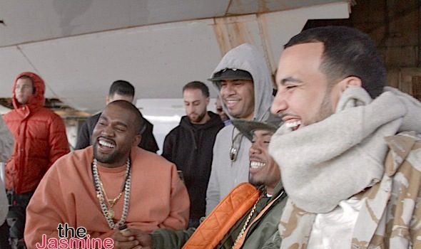 "French Montana Shoots ""Figure It Out"" Video Feat. Kanye West & Nas [Photos]"