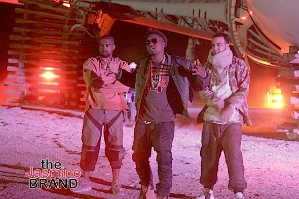 Kanye West, Nas, French Montana