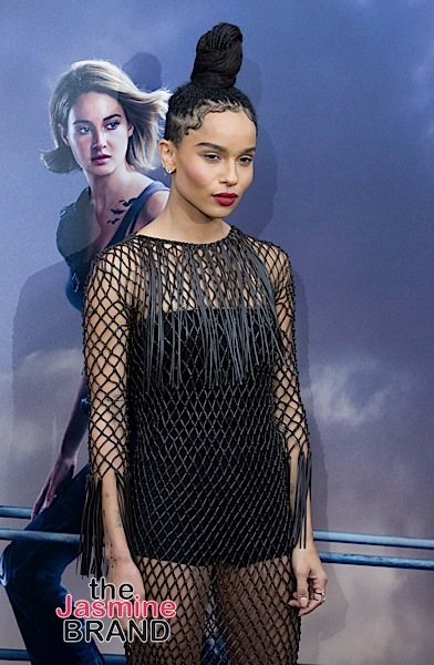 "Zoë Kravitz Rocks Valentino to ""The Divergent Series: Allegiant"" Premiere [Celebrity Fashion]"