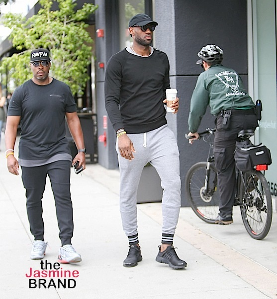 Lebron James Spotted In La Photos Thejasminebrand