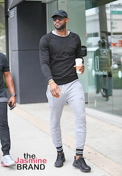 LeBron James Spotted In LA [Photos]
