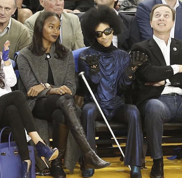 Prince Hits NBA Game, 'Power' Celebrates Wrap Party + Roger Bobb & Demetria McKinney At Cirque du Soleil [Photos]