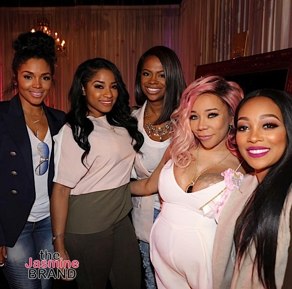 Tiny & T.I. Celebrate Baby Shower: Kandi Burruss, Phaedra Parks, Keke Wyatt, Monica Attend [Photos]