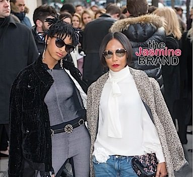 Willow Smith Is A Chanel Ambassador, Slays With Mom Jada Pinkett-Smith During Paris Fashion Week [Photos]