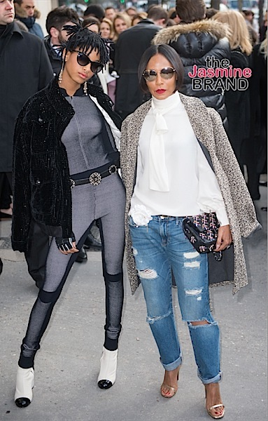 Willow Smith, Jada Pinkett-Smith
