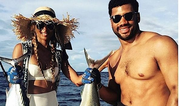 Gone Fishing! Ciara & Boyfriend Russell Wilson Share Vacay Chronicles [Photos]