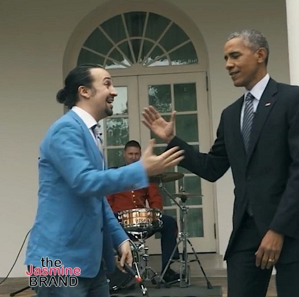 Watch President Obama Assist Lin-Manuel Miranda's Freestyle [VIDEO]
