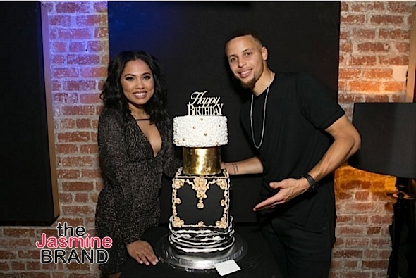 Here's How Steph Curry Celebrated His 28th Birthday [Photos]
