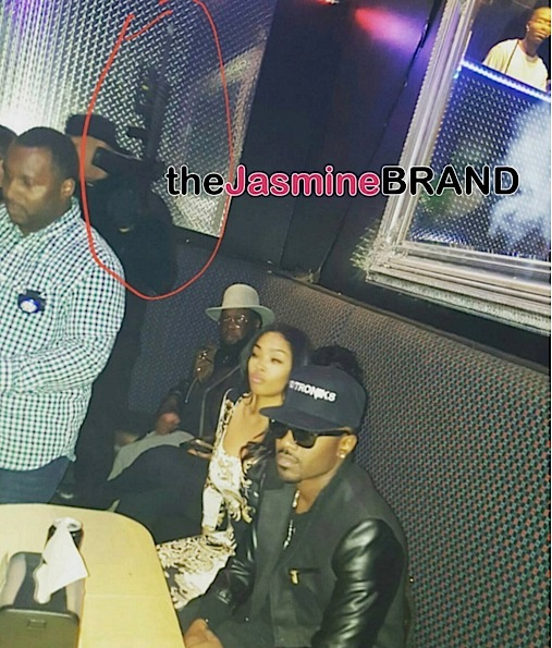 Wow! Ray J Brings Strapped Security With A Rifle to Detroit Strip Club [VIDEO]
