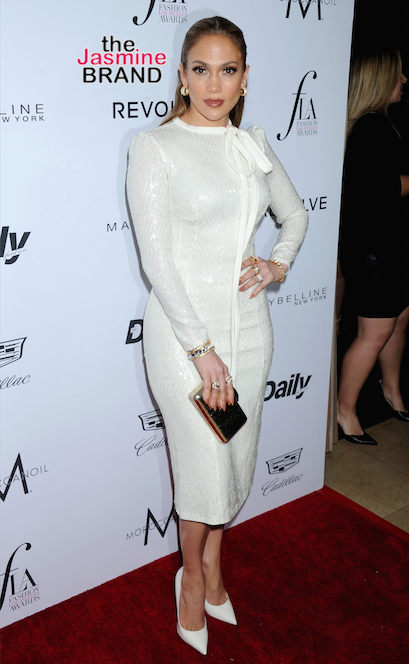 J.Lo attends Daily Front Row's Fashion Los Angeles Awards.