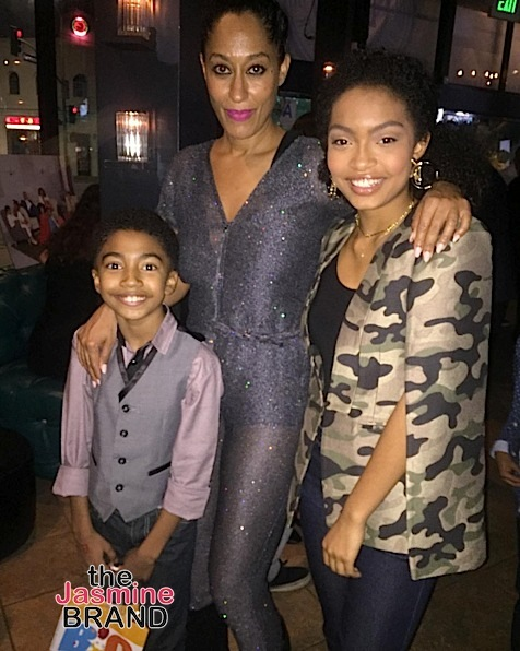 Inside Black-ish's Wrap Party!: Tracee Ellis Ross, Anthony Anderson, Yara Shahidi, Miles Brown, Marsai Martin & More!