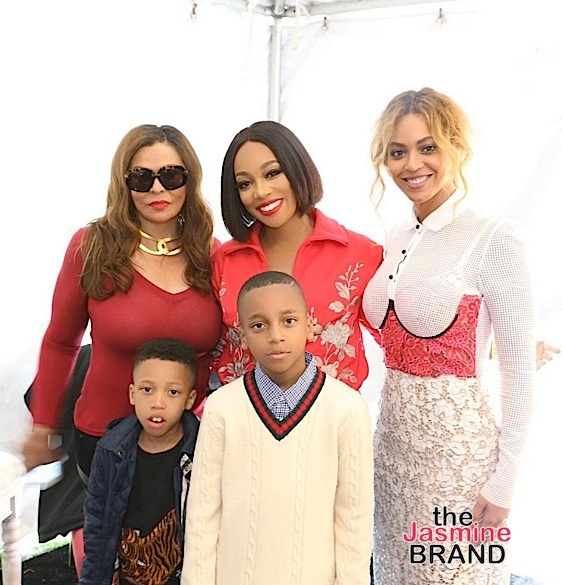 Tina Knowles, Monica, Beyonce