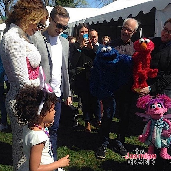 Beyonce, Blue Ivy, Jay Z, Tina Knowles, Shonda Rhimes, Monica, Angela Simmons & Black-ish Cast Hit the Easter Egg Hunt Roll [Photos]