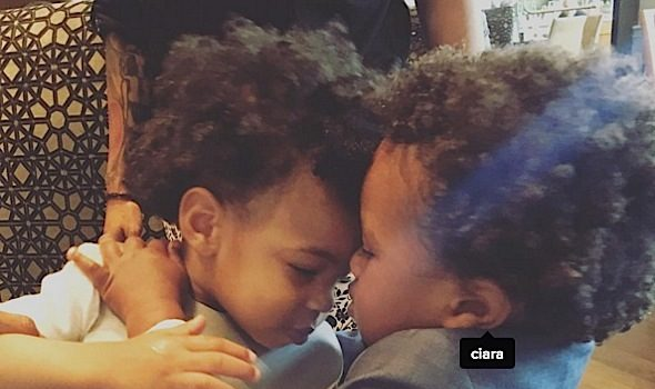 Kelly Rowland & Ciara's Sons Share THEE Cutest Moment [Photos]