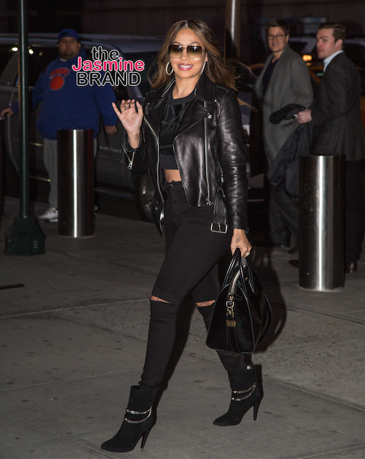 La La Anthony seen heading to Madison Square Garden for the New York Knicks vs Cleveland Cavaliers basketball game. Pictured: La La Anthony Ref: SPL1252929 280316 Picture by: Allan Bregg Splash News and Pictures Los Angeles: 310-821-2666 New York: 212-619-2666 London: 870-934-2666 photodesk@splashnews.com