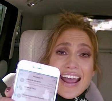 J.Lo Denies Insuring Her Booty For $27 Million, See Her Epic Carpool Karaoke [VIDEO]