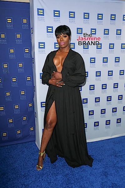 03/19/2016 - Ta'Rhonda Jones - Human Rights Campaign 2016 Los Angeles Gala Dinner - Arrivals - JW Marriott Los Angeles at L.A. LIVE - Los Angeles, CA, USA - Keywords: Vertical, People, Person, Celebrity, Arrival, Attending, Awareness, LGBTQ, California, City Of Los Angeles, Arrival, Photography, Arts Culture and Entertainment, Gala, Celebrities, Marriott International Orientation: Portrait Face Count: 1 - False - Photo Credit: PRPhotos.com - Contact (1-866-551-7827) - Portrait Face Count: 1