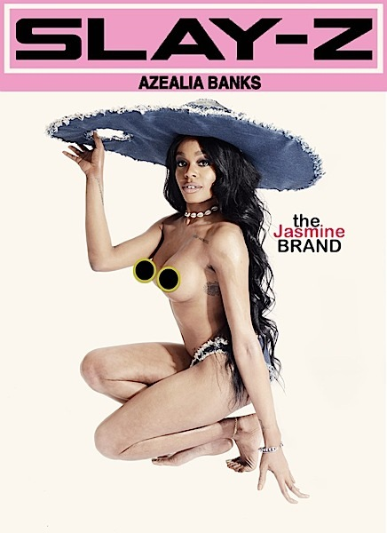 Stop & Stare: Azealia Banks Poses Topless For Cover [Photo]