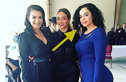 Beyonce's Famous Cousin, Kristin Douglas, Isn't REALLY Her Cousin [Photo]