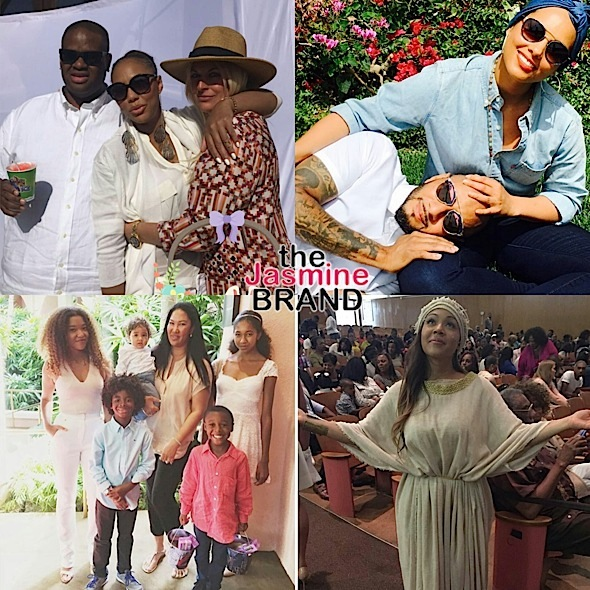 Celebrity Easter Photos! Oprah, Kimora Lee Simmons, Alicia Keys, Swizz Beatz, Tamar Braxton, Erica Campbell