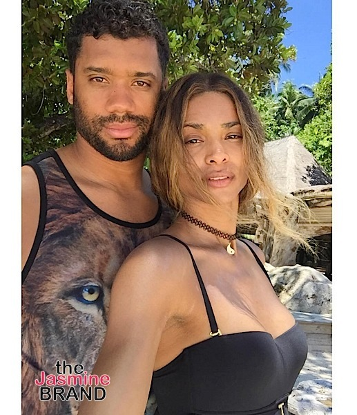 1st Look! Ciara & Russell Wilson's Wedding