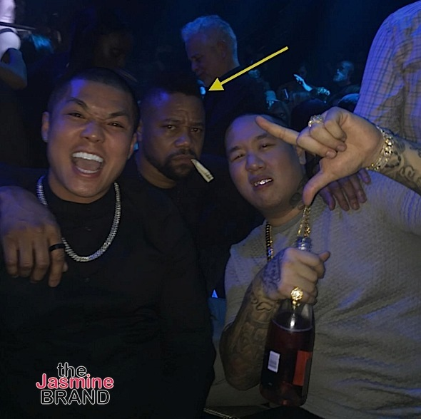 cuba gooding jr-parties at liv miami-the jasmine brand