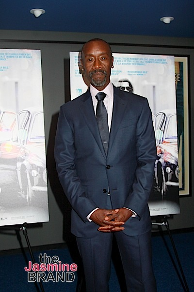 Don Cheadle To Star & Produce Film About 1st Black Millionaire