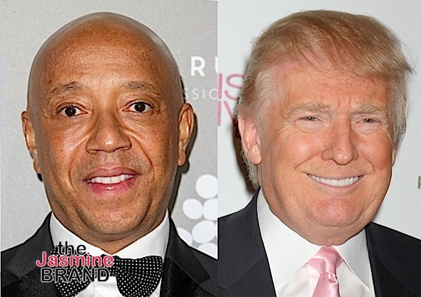 donald trump-russell simmons-the jasmine brand