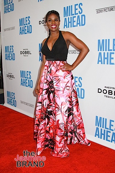 "03/29/2016 - Edwina Findley - ""Miles Ahead"" Los Angeles Premiere - Arrivals - Writers Guild Theater, 135 S Doheny Drive - Beverly Hills, CA, USA - Keywords: Vertical, Film Premiere, Movie Premiere, Portrait, Photography, Film Industry, Red Carpet Event, Arts Culture and Entertainment, Celebrity, Celebrities, Person, People, Attending, Sony Picture Classics, Sony Pictures Entertainment, California Orientation: Portrait Face Count: 1 - False - Photo Credit: Izumi Hasegawa / PRPhotos.com - Contact (1-866-551-7827) - Portrait Face Count: 1"
