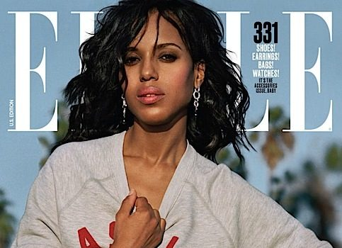 Kerry Washington: Playing Olivia Pope made me feel like I could be a mom.