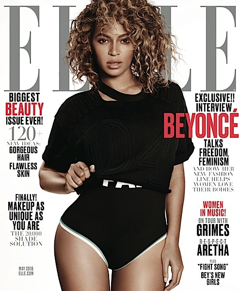 Beyoncé Snags Two ELLE Covers [Photos]
