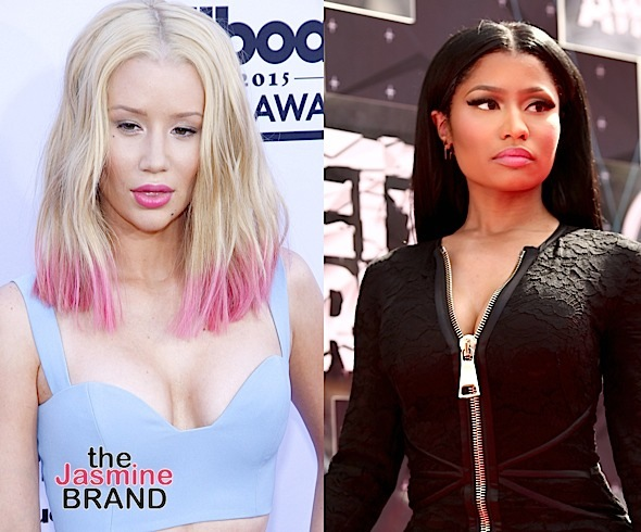 'I have just as many writing credits as her': Did Iggy Azalea Just Shade Nicki Minaj? [VIDEO]