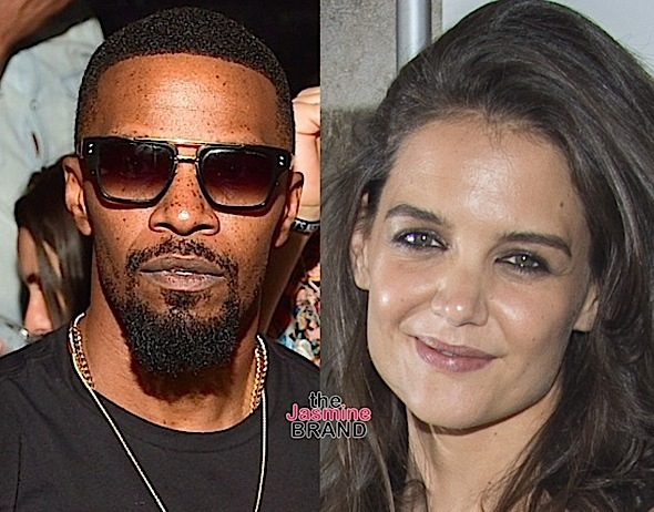 Jamie Foxx & Katie Holmes FINALLY Confirm Secret Relationship [Photos]