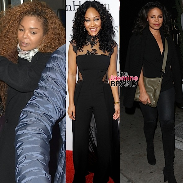 Celebrity Stalking: Janet Jackson, Meagan Good, Sanaa Lathan, Queen Latifah, Wiz Khalifa, Jaden Smith, Smokey Robinson & Berry Gordy [Photos]