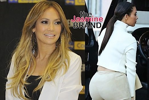 J.Lo Says She's Paved the Way For the Kardashian's Big Booties: There's plenty of room for all the ass.
