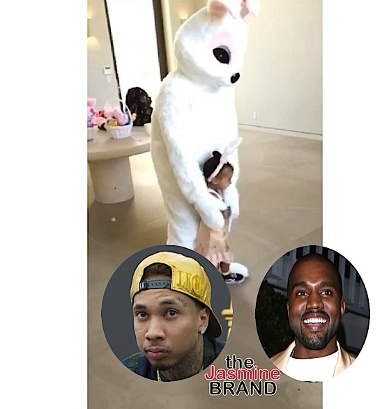 See Kanye West & Tyga Dressed Up As the Easter Bunny [VIDEO]